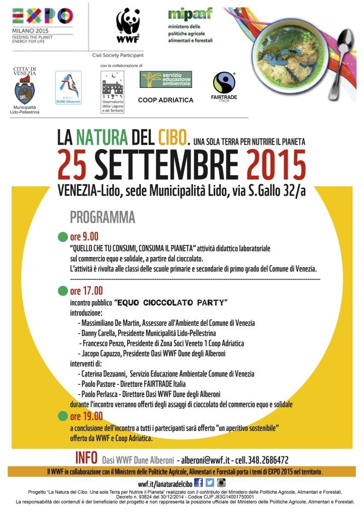 Evento Dune Alberoni WWF Expo